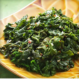 Basic Sautéed Kale.