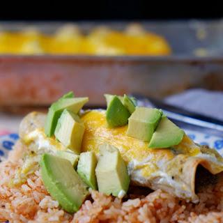 Beef Tongue Enchiladas aka Enchiladas de Lengua