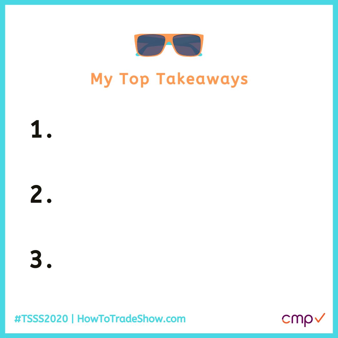 Top Takeaways