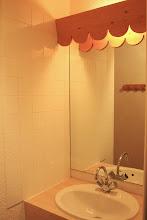 Photo: Salle de bain d'un appartement de la résidence Castor & Pollux à RISOUL - Alpes du Sud