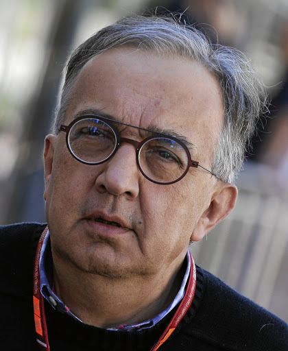 Sergio Marchionne. Picture: REUTERS