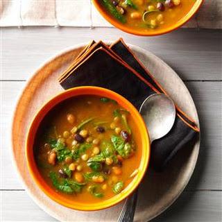 Pumpkin-Lentil Soup.