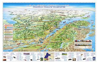 Photo: 2005- Le Québec Ferroviaire for Geografix inc.