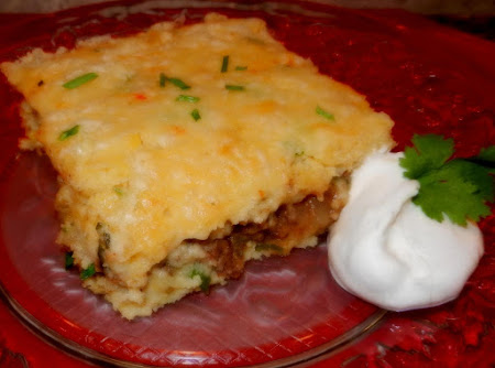 Stuffed Mexican Cornbread Recipe