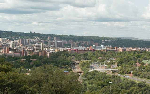 A view of the City of Tshwane, from Freedom Park. Picture: SUNDAY TIMES