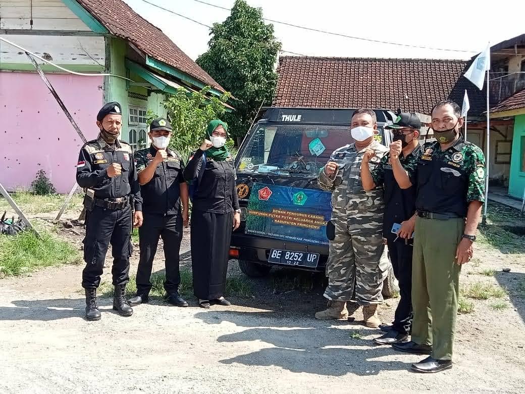 Bhakti Sosial dan Taliasih Ramadhan 1442 H DPC Hipakad Kabupaten Pringsewu