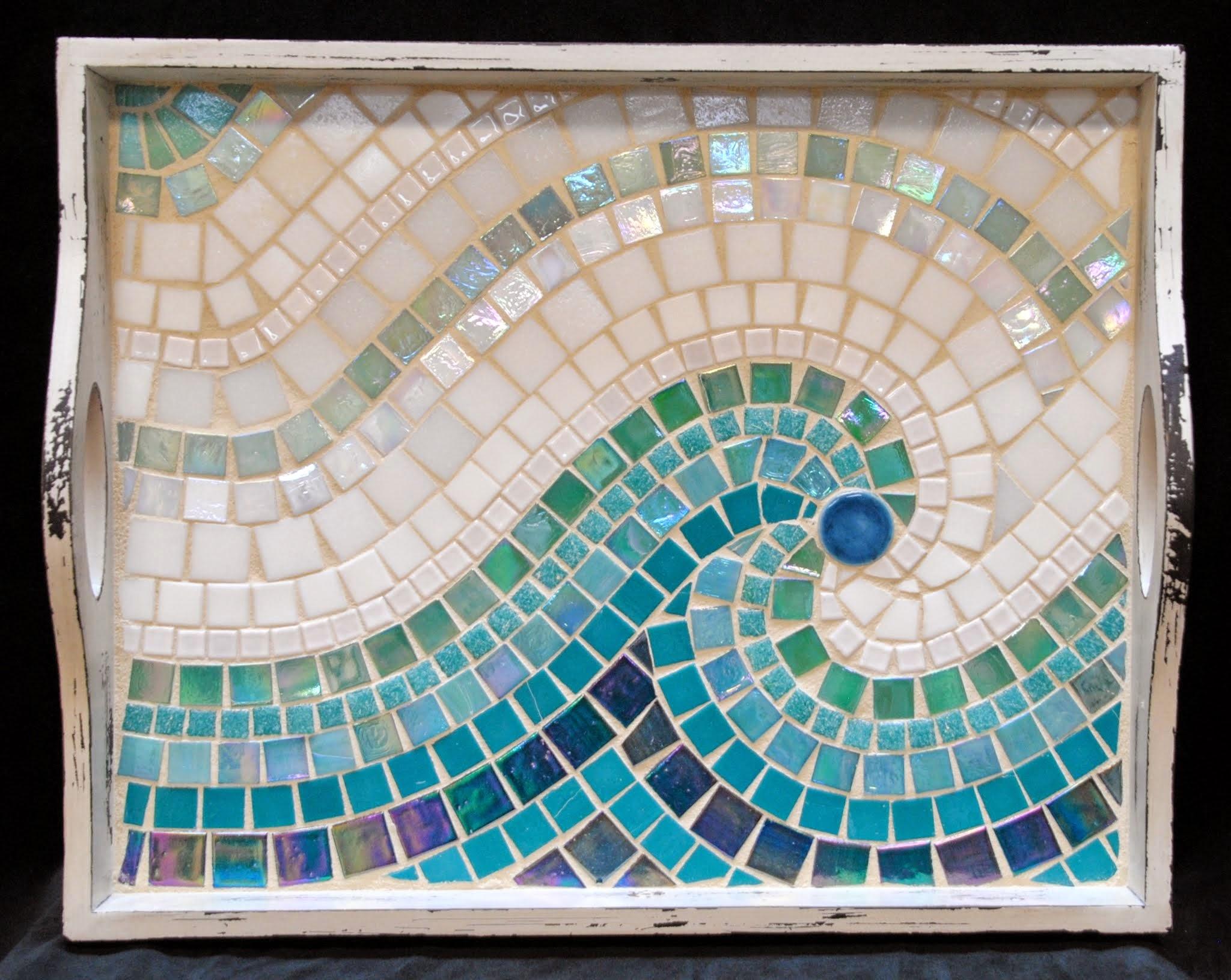 Mosaic Vases, Bowls & Trays