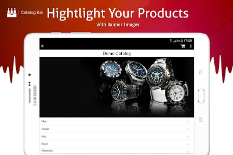 Product Catalog & Mobile Sales App- screenshot thumbnail