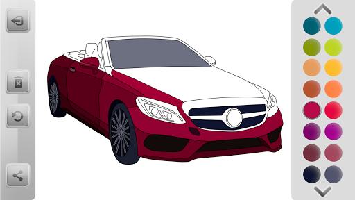 World Cars Coloring Book android2mod screenshots 2