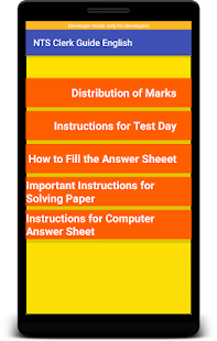 New NTS Clerk Guide English Latest:MCQs & GKLatest for PC-Windows 7,8,10 and Mac apk screenshot 4