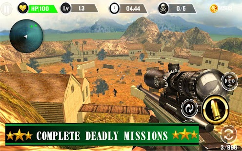Commando Gun Shoot Strike War- screenshot thumbnail