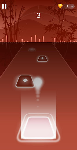 Dancing HOP: Tiles Ball EDM Rush apkpoly screenshots 3