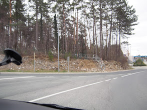 Photo: Ochrana Slovinské hranice...žiletkový plot