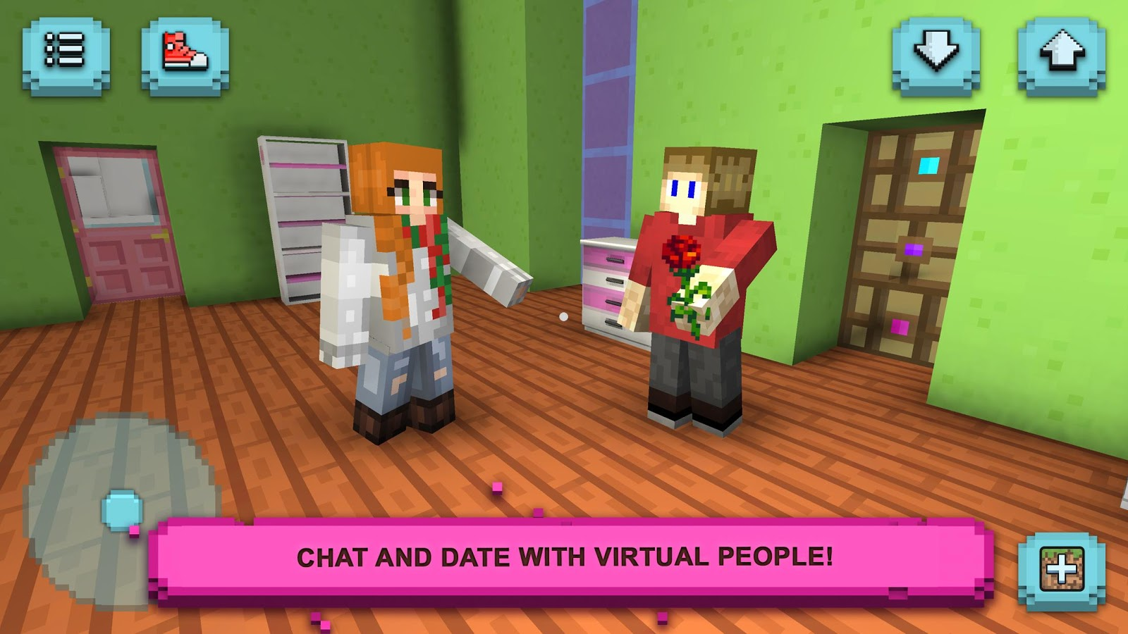Girls exploration lite building craft chat android for Crafting and building app store