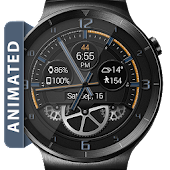 Bold Gears HD Watch Face