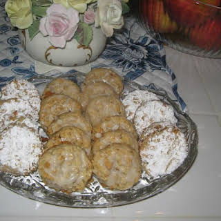 Grandma's Honey Cookies.