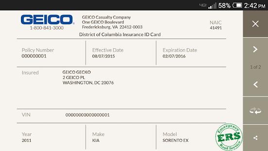 GEICO Mobile- screenshot thumbnail