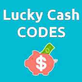 Lucky Cash CODES - Share and find referral codes! Icon
