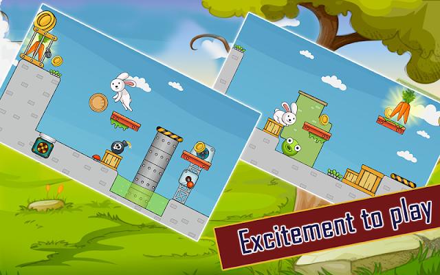Bunny Baby Mania Game - screenshot