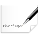 Piece Of Paper Free icon