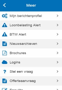 Berghoef Accountants- screenshot thumbnail
