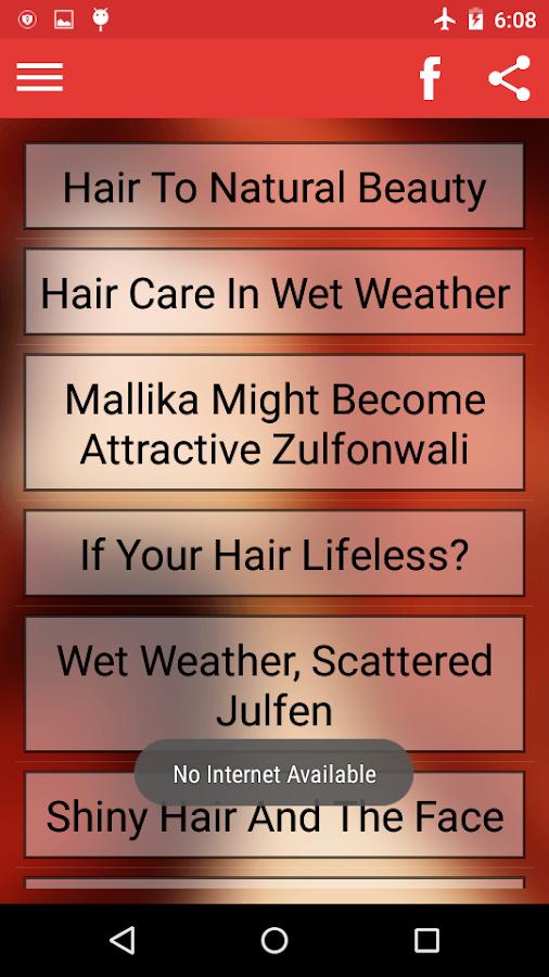 Hair Care Tips Hindi English Screenshot