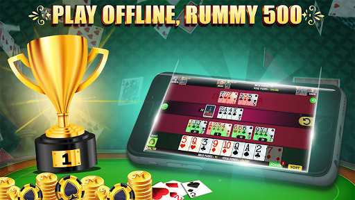 Rummy 500 screenshots 1