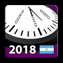 Calendario Feriados y otros Eventos 2018 Argentina icon