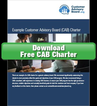Free Customer Advisory Board Charter Template