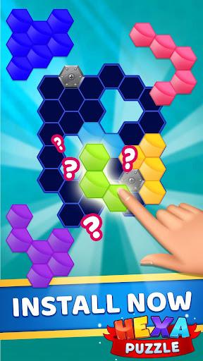 Hexa Puzzle apkpoly screenshots 3