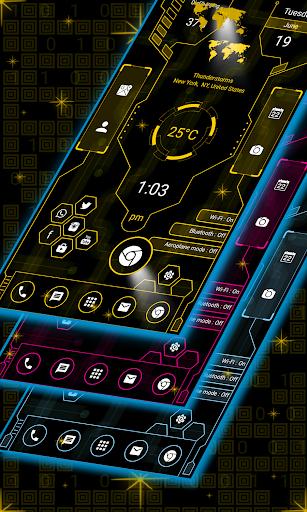 Download Hitech Launcher 2 Pro - 2018 - hitech theme MOD APK 1