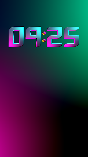 Download CYBERPUNK Digital Clock Widget MOD APK 3