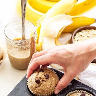 Almond Butter, Banana, Oatmeal Blender Muffins + A Giveaway