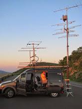 Photo: K8GP / Rover - FM08US (looking E) - ARRL June VHF 2014