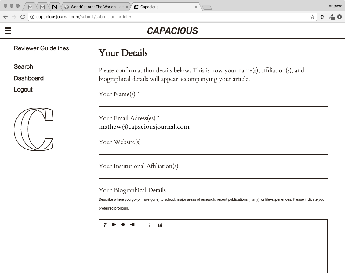 JISCMail - RADICALOPENACCESS Archives