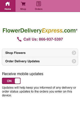 Flower Delivery Express Mobile