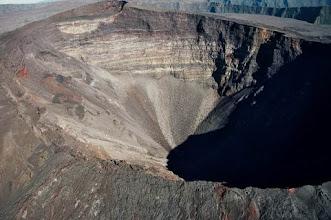 Photo: Cratère Dolomieu au Piton de La Fournaise.