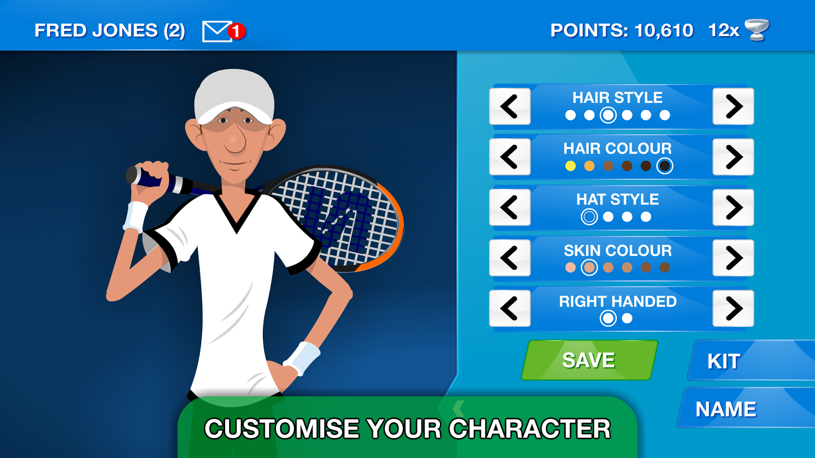 Stick Sports Tennis 98