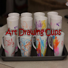 Art Drawing Cups icon