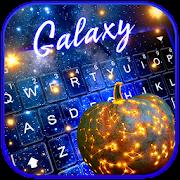 Galaxy Jack O Lantern Keyboard Theme