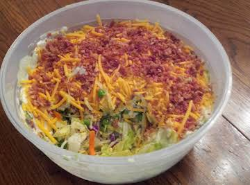 In A Pinch Seven Layer Salad