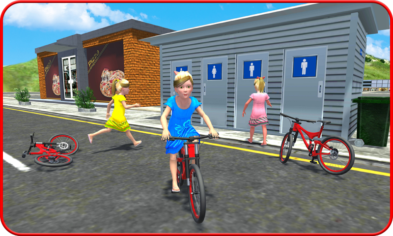 Kids Toilet Emergency Sim 3D- screenshot