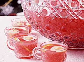 Pine-o-berry Party Punch Recipe