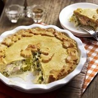 Porree und Puten Pie