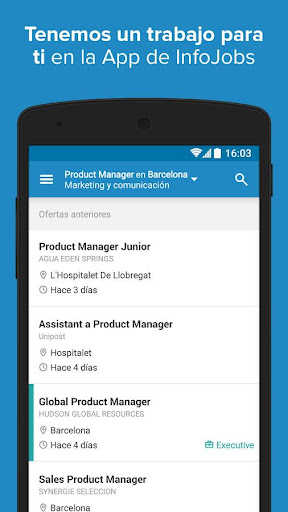 InfoJobs - Job Search  screenshots 1