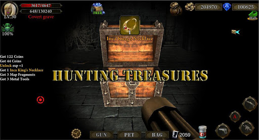 Dungeon Shooter V1.3 : The Forgotten Temple - screenshot