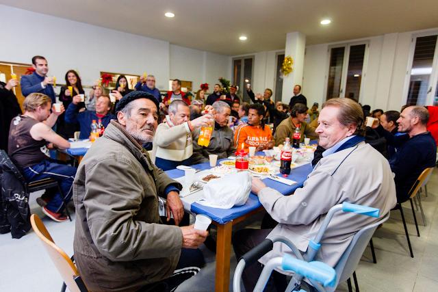 Cena de Nochebuena en el Centro Municipal de Acogida