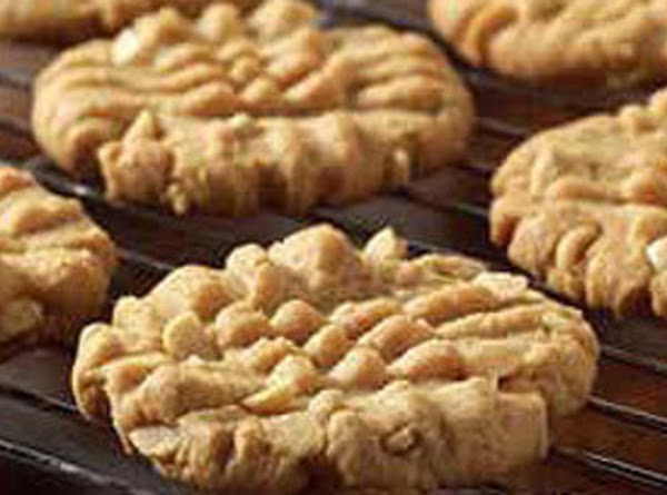Easiest Peanut Butter Cookies.... Ever Recipe
