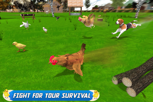 New Hen Family Simulator: Chicken Farming Games apkpoly screenshots 4