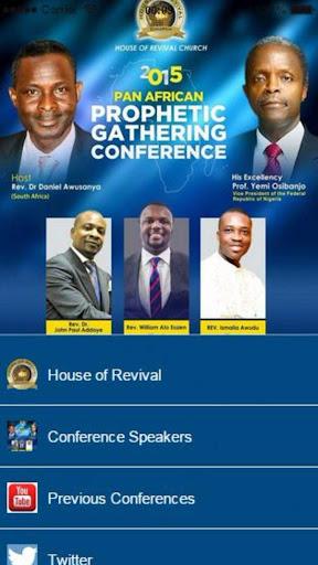 PanAfrican Prophetic Gathering
